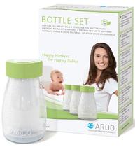 Фото-1 Набор из 3 бутылочек Ardo Bottle Set (150 мл)