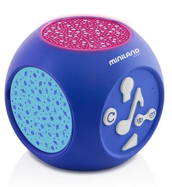 Фото-1 Музыкальный ночник-проектор Miniland Dreamcube