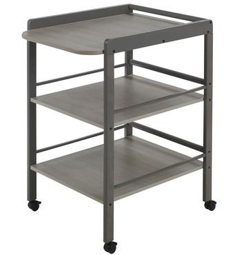 Фото-1 Мобильный пеленальный столик Clarissa серый