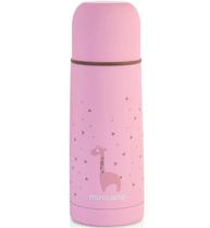 Фото-1 Термос для жидкостей Miniland Silky Thermos розовый, 350 мл