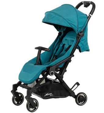 Фото-1 Детская прогулочная коляска Bit Turquoise