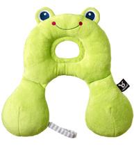 Фото-1 Дорожная подушка Benbat Travel Friends для новорожденных лягушка
