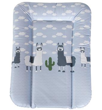 Фото-1 Накладка для пеленания Geuther серая с ламами, 52x75 см