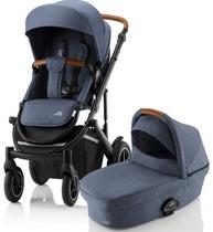 Фото-1 Детская коляска 2 в 1 SMILE III Indigo Blue