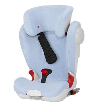 Фото-1 Летний чехол для кресла Britax Roemer Kidfix II XP (SICT) голубой