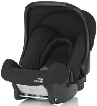 Фото-1 Детское автокресло Britax Roemer Baby-Safe (группа 0+, до 13 кг) Cosmos Black