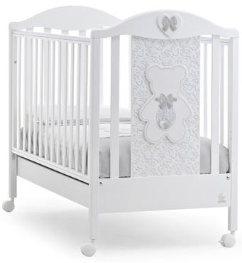 Фото-1 Детская кровать Italbaby Fiocco Classic белая