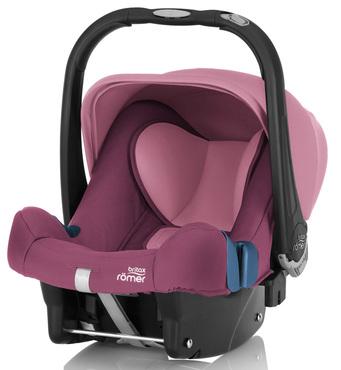 Фото-1 Детское автокресло Britax Roemer Baby-Safe plus SHR II (группа 0+, до 13 кг) Wine Rose
