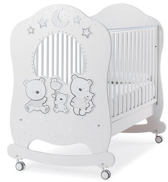 Фото-1 Детская кровать Italbaby Happy Family Oblo белая