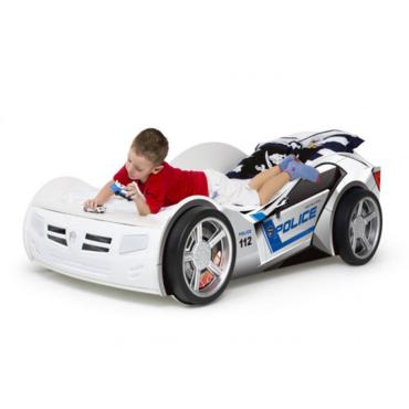Фото-1 Кровать машина детская Полиция Адвеста (Police Advesta)