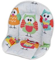 Фото-1 Мягкая вставка для стульев Family, Filou белая с совами (цвет 131)