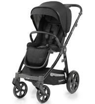 Фото-1 Детская прогулочная коляска Oyster 3 Noir Black на черном шасси