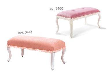 Фото-1 Банкетка розовая Romantic Cilek арт.3441, арт.3460