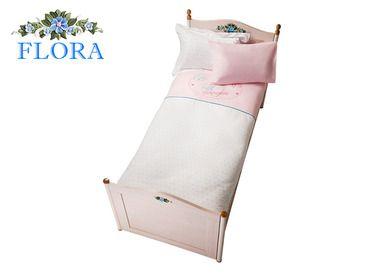 Фото-1 Комплект постельного белья Flora Cilek AKS-4231 розовый