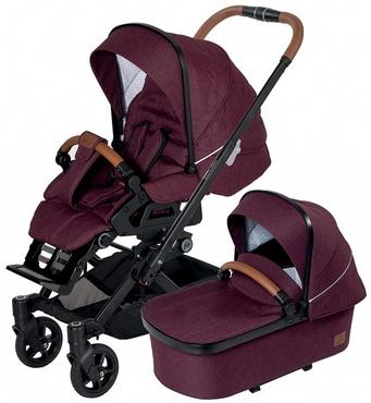 Фото-1 Детская коляска 2 в 1 Hartan Yes GTS XL 551 Selection с сумкой