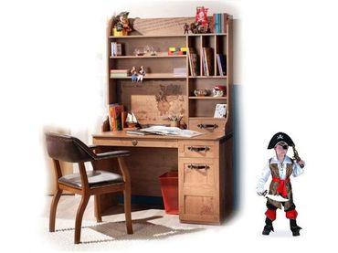 Фото-1 Письменный стол Black Pirat KS-1101(2) с полками