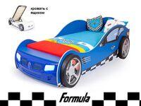 Фото-1 Advesta Кровать машина Formula синяя