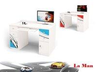 Фото-1 Компьютерный стол для мальчика La-Man ABC-King