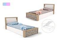 Фото-1 Кровать с подъемным механизмом MIX ABC-King №5