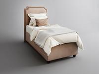 Фото-1 Подростковая кровать с мягкой спинкой Мечта Grigio
