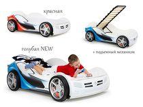 Фото-1 Детская Кровать машина La-Man NEW