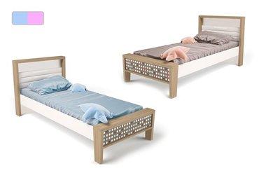 Фото-1 Детская кровать MIX ABC-King №1 мягкая