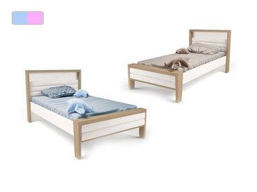 Фото-1 Детская кровать MIX ABC-King №2 с мягкой спинкой