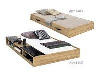 Фото-1 Детская выдвижная кровать Wood Metal Cilek арт.1303,1305