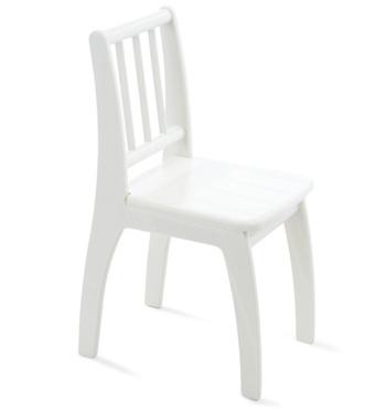 Фото-1 Детский стульчик Bambino белый