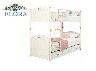 Фото-1 Двухъярусная кровать Flora Cilek арт.1401