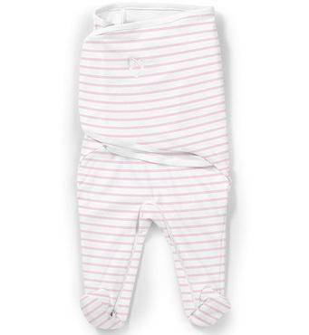 Фото-1 Конверт для пеленания SwaddleMe Footsie розовые полоски, размер S/M