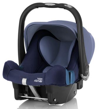 Фото-1 Детское автокресло Britax Roemer Baby-Safe plus SHR II (группа 0+, до 13 кг) Moonlight Blue