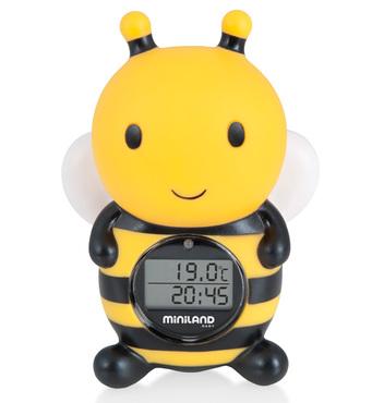 Фото-1 Цифровой термометр для воды и воздуха Thermo Bath Пчелка