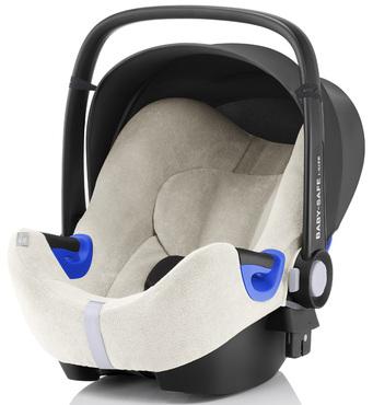 Фото-1 Летний чехол для автокресла Britax Roemer Baby-Safe i-Size белый