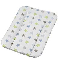 Фото-1 Накладка для пеленания Geuther белая со звездами, 52x75 см