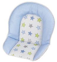 Фото-1 Мягкая вставка для стульев Family, Filou бело-голубая со звездами (цвет 132)
