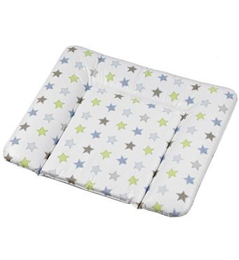 Фото-1 Накладка для пеленания Geuther белая со звездами, 85х75 см