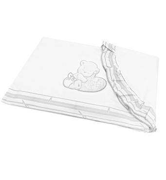 Фото-1 Комплект постельного белья Italbaby Love Oval, 3 предмета, белый