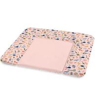 Фото-1 Накладка для пеленания Geuther розовая с животными, 85х72 см