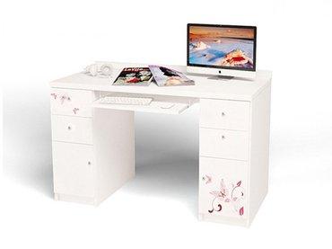 Фото-1 Компьютерный стол Фея ABC для девочки