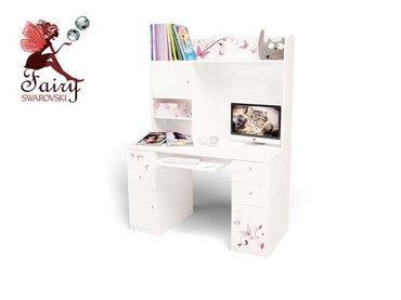 Фото-1 Компьютерный стол с надстройкой Фея ABC