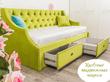 Фото-3 Кровать-диван детская Art-D зелёный