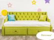 Фото-8 Кровать-диван детская Art-D зелёный