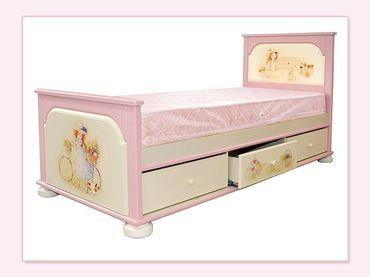Фото-1 Кровать для девочки Маленькая принцесса