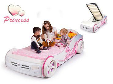 Фото-1 Advesta Детская Кровать машина Princess