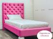 Фото-12 Кровать с прямоугольной спинкой Art-B на 2 опорах