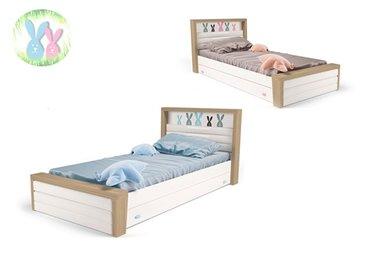 Фото-1 Кровать Зайцы MIX №4 с ящиком