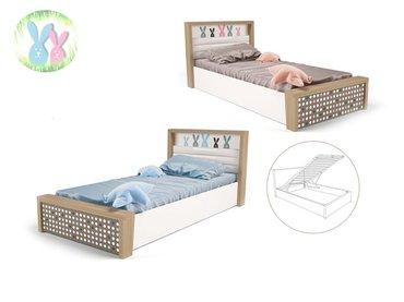 Фото-1 Кровать Зайцы MIX №5 с подъемным механизмом
