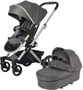 Фото-1 Детская коляска 2 в 1 VIP GTX XL 525 (без сумки)