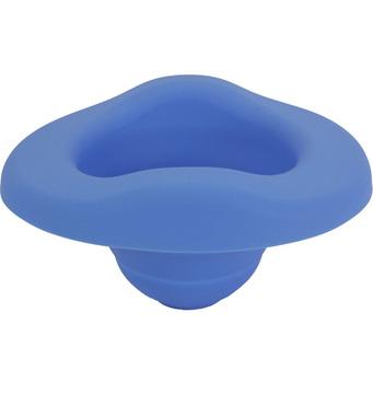 Фото-1 Складная силиконовая вставка для горшка Potette plus голубая